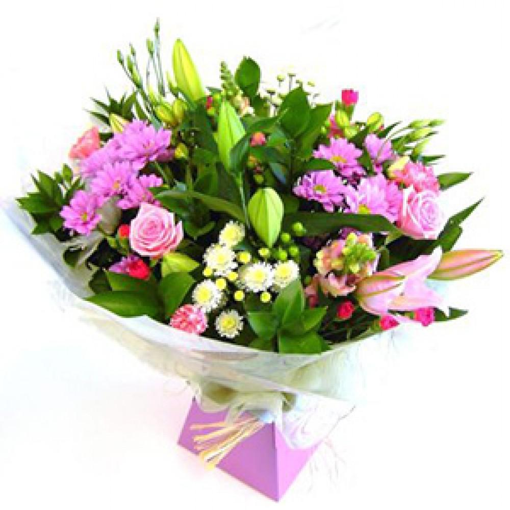 Aqua Bouquet Our Most Popular Elimays Flowers