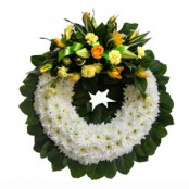 Traditional Massed Wreath